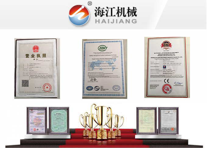 China Ningbo Haijiang Machinery Co.,Ltd.