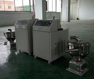 China High Speed Plastics Process Equipment , 3500w Plastic Material Hopper Loaders supplier