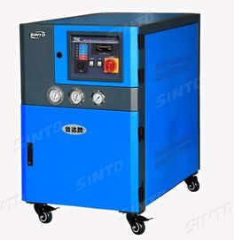 China Electrostatic Power Paint Industrial Air Chiller With Wheels Elegant Appearance supplier