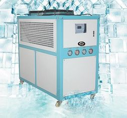 China Small Water Cooled Industrial Chillers , 30 Ton Air Cooled Chiller  Digital Temperature Controller supplier