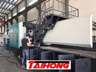 China Electricity Saving PET Preform Making Machine 1400 Tons Low Noise For Horizontal Table Making supplier