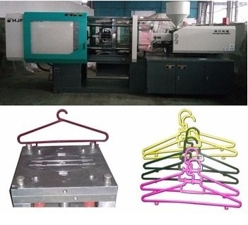 China LCD Control Electric Injection Moulding Machine For Plastic Cloth Hanger / Cloth Peg supplier