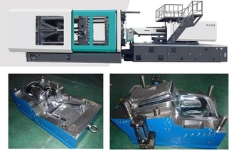 China Hydraulic Small Plastic Injection Molding Machine 780 Ton Energy Saving supplier