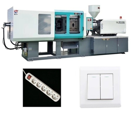 China Plastic Socket / Switch Electric Injection Moulding Machine With Servo System supplier
