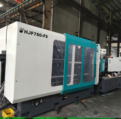 China Energy Saving Injection Plastic Moulding Machine 780 Ton For Making Plastic Crate supplier