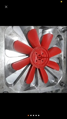 China High Precision Auto Injection Molding Machine Metal Stamping Plastic Fan Blade Injection Mould supplier