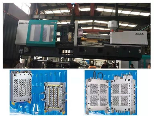 China Servo Injection Plastic Moulding Machine 290 Ton PET Preformed Mould Making supplier