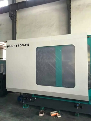 China Plastic Automatic Injection Moulding Machine 800mm Table Height 4.85m * 1.3m * 2.1m supplier