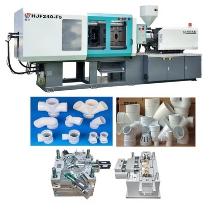 China Low Noise Auto Injection Moulding Machines With High Definition Crystal Display supplier
