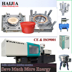 China 20L Water Bucket Auto Injection Molding Machine 5.5 Tons Machine Weight supplier
