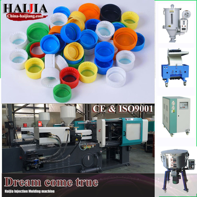 China Plastic Auto Injection Molding Machine 15kw Motor Power For Bottle Cap supplier