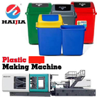 Plastic Trash Can Making Plastic Moulder Machine 580 Ton With Servo Motor