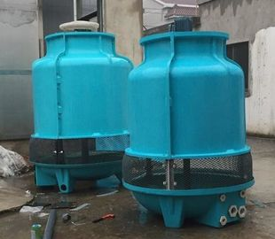 Adjustable Angle 50T Huge Round Cooling Tower , Small Diameter Evaporative Cooling Tower