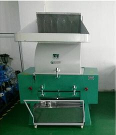 4kw Power Plastic Grinding Machine , Pet Bottle Crushing Machine With Steel Screws