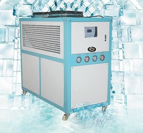 Small Water Cooled Industrial Chillers , 30 Ton Air Cooled Chiller  Digital Temperature Controller