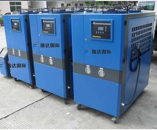 Big Volume Fan Motor Industrial Air Chiller With Large Volume Centrifugal Pump