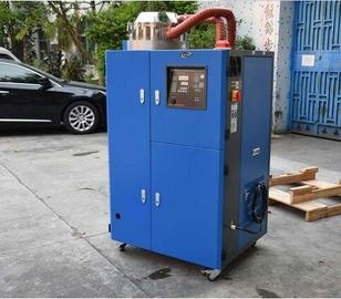 Low Temperature Portable Industrial Dehumidifier , 30m3 / Hr Desiccant Wheel Dehumidifier