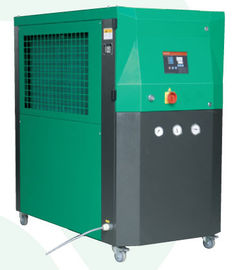 Green High Capacity Industrial Water Chiller Unit 4W Wooden Box Packing