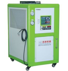 Freestanding Wheeled Water Cooled Industrial Chiller , 30W Air Cooled Water Chiller