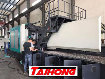 Electricity Saving PET Preform Making Machine 1400 Tons Low Noise For Horizontal Table Making