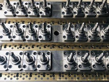 Customized Plastic Bottle Mould / Multi Cavity Injection Molding With Long Life Mould