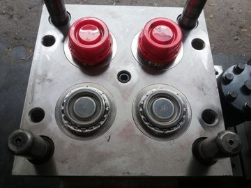 PP / PE Oil Bottle Cap Custom Injection Molding 4 Cavities With Iso Certified