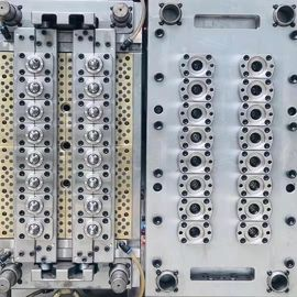 16 Cavities Injection Molding Molds Pet Preform Mould 5 Million Shot Mould Life