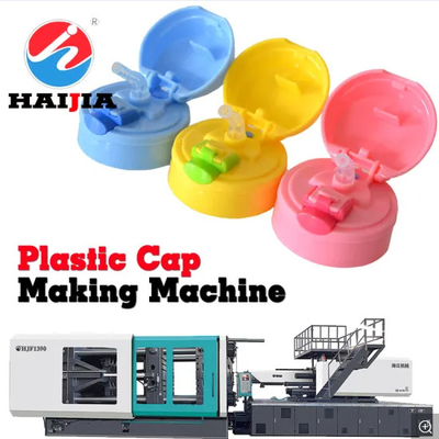 Bottle Cap Making Plastic Injection Molding Equipment 290 Ton Horizontal Injection Moulding Machine