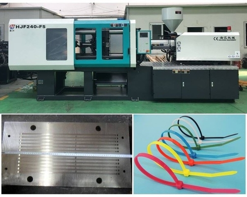 Nylon Cable Tie Injection Making Machine High Efficiency Energy Saving
