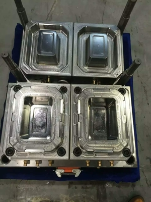 Pp Food Container Injection Molding Molds Multi Cavities With Cold / Hot Runner