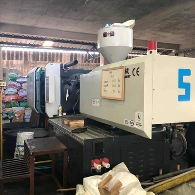High Response 400 Ton Auto Injection Molding Machine High Performance Servo Motor