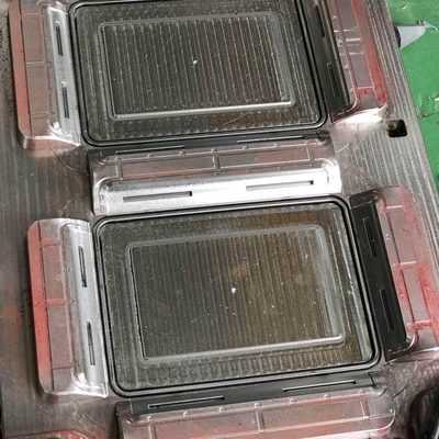 Container Box Lid Plastic Mold Making Machine High Precision Cold / Hot Runner