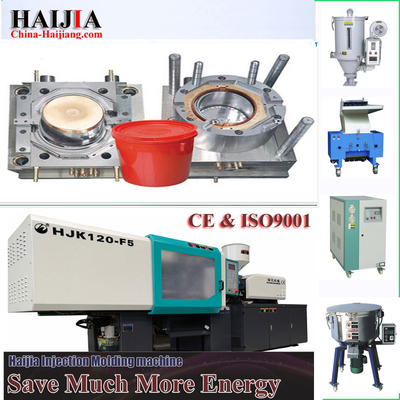 20L Water Bucket Auto Injection Molding Machine 5.5 Tons Machine Weight