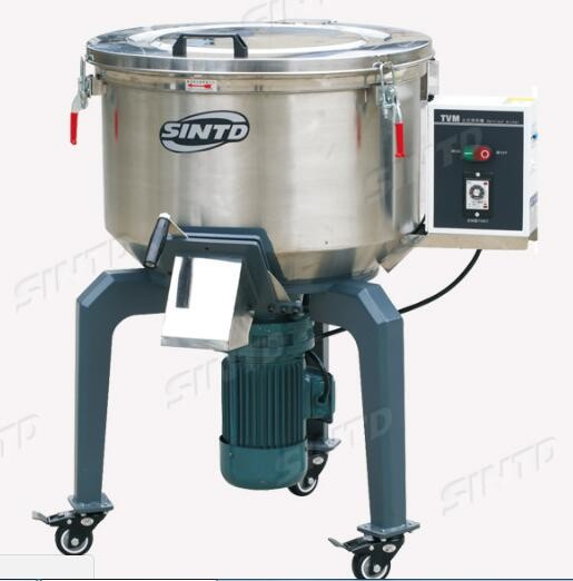High Strength Plastic Mixer Machine / Stainless Steel Plastic Material Mixer 1.1Kw Power